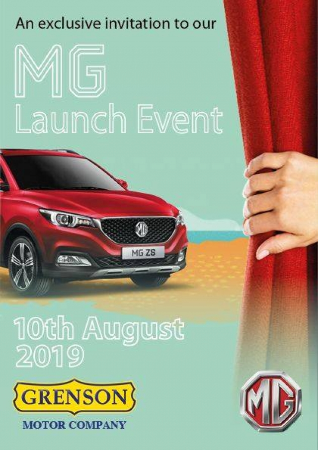 MG Open Day - This Saturday Aug 11 - Everyone Welcome
