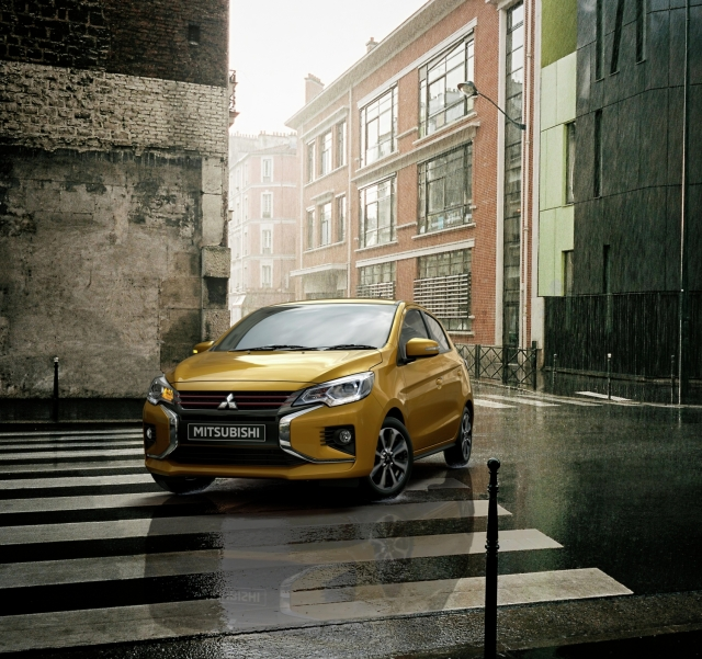 MITSUBISHI MOTORS UNVEILS NEW MIRAGE