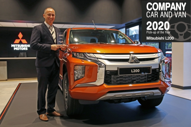 MITSUBISHI L200 SERIES 6 AWARDED 'BEST PICK-UP' BY COMPANY CAR AND VAN