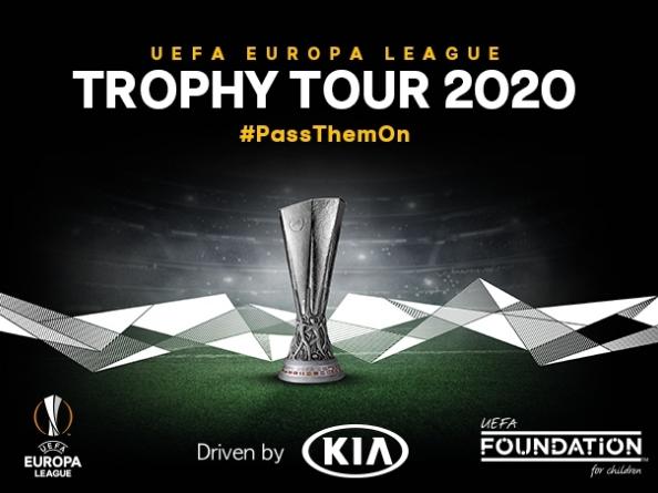 UEFA EUROPA LEAGUE TROPHY TOUR DRIVEN BY KIA' RETURNS IN 2020