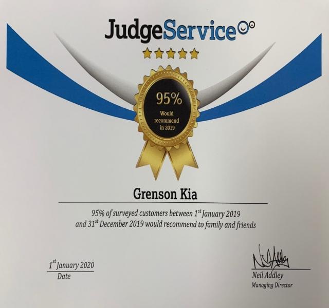 Congratulations - Grenson KIA