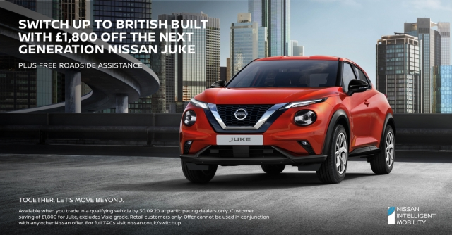 SWITCH UP TO A NEW NISSAN TODAY